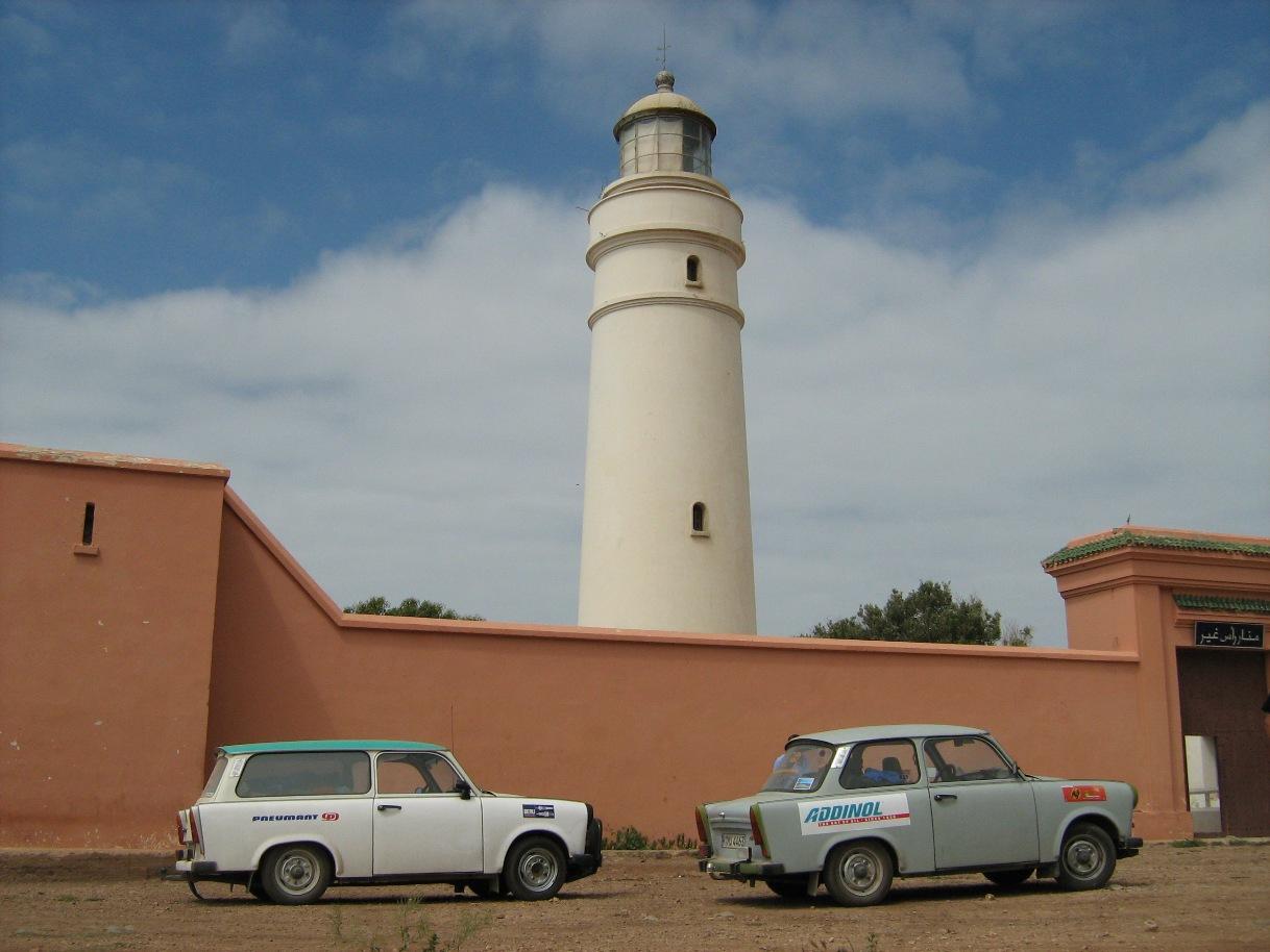 Marokkanischer Leuchtturm